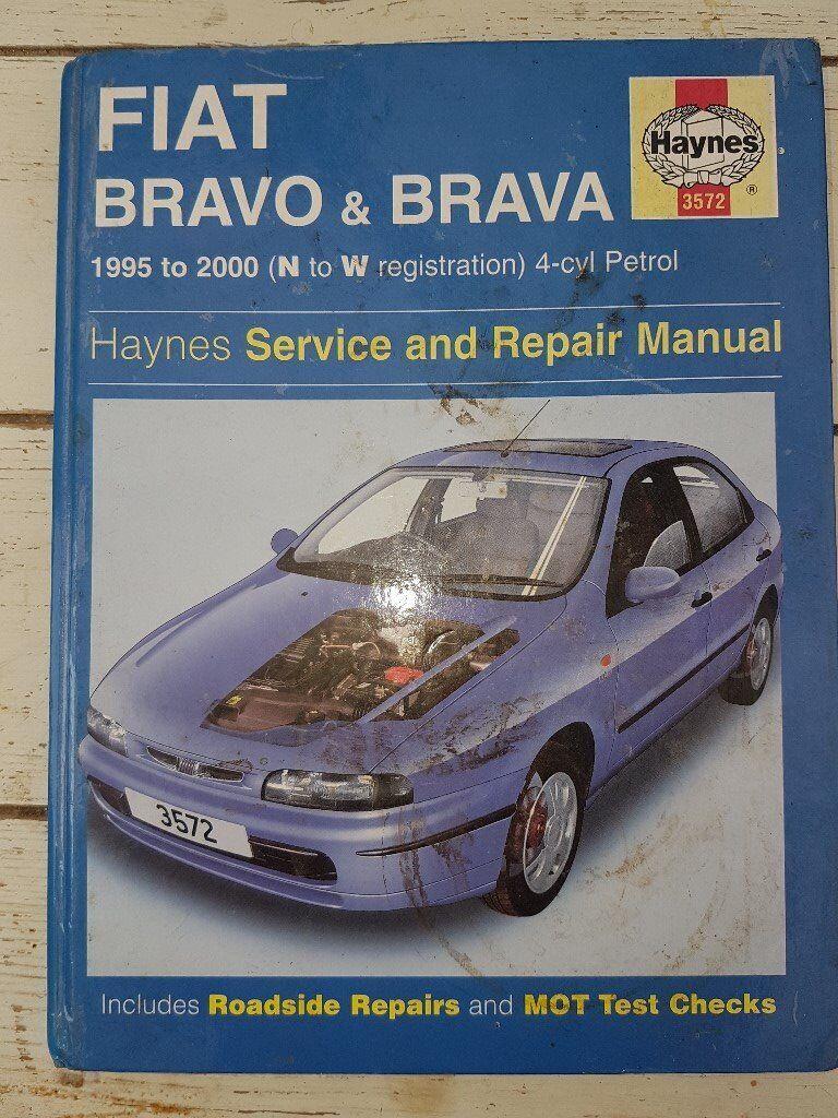 Workshop Manual Fiat Bravo/Brava 1995 to 2000