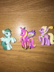 My Little Pony Set of 3 Ponies