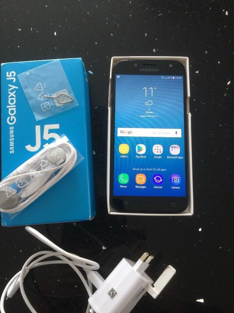 Samsung J5 (2017) 16GB Black - as new