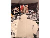 Armani jr white / off white hoody