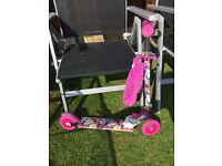 Childrens furby 2 wheel scooter