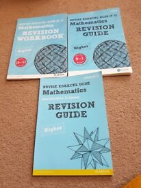 GCSE maths revision guides and woodbook
