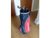 Dunlop Golf Club Set and Bag