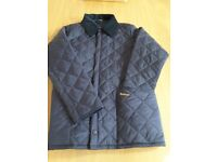 Barbour quilted jacket boys XL - almost NEW