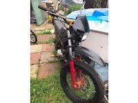 Motorbike 125cc rieju tango