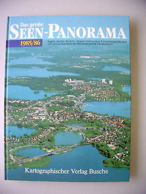 Das große Seen-Panorama 1985/86 Segeln Surfen ....