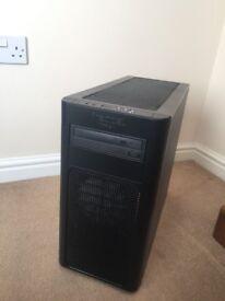 High-Spec Custom Built Gaming PC, Watercooled i7-3770K, 16GB, 256GB SSD, Radeon HD5870