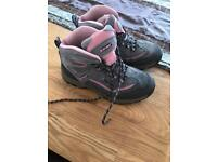 Girls/ladies hi tech walking boots size 3