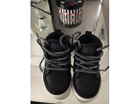 Next baby / toddler boy shoes size 4 NEVER WORN