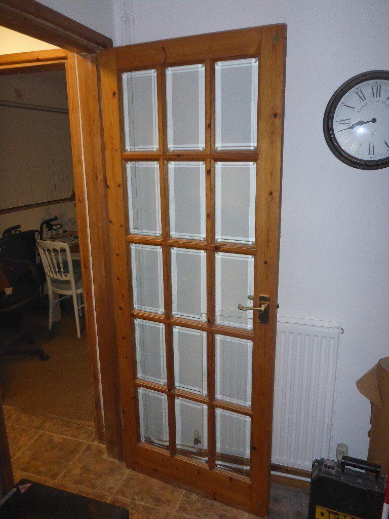 15 Glass Panel Internal Door In Bury St Edmunds Suffolk Gumtree