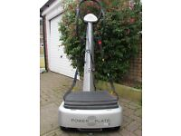 The Power Plate my3 Silver. Comes with manual, DVD and poster. Pet & smoke free home.