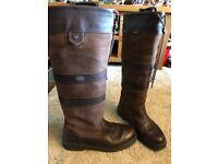 Ladies Dubarry Boots Size 7.