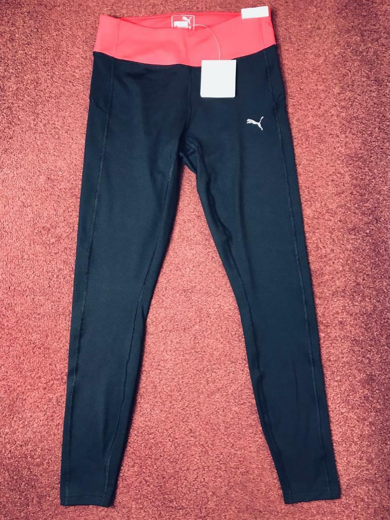 puma leggings tight fit gym yoga training trousers new dry xs 10uk c305ab8ba