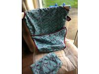 Totseat travel highchair in a bag