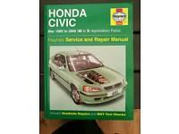 Haynes Manual Honda Civic