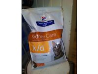 Hills Prescription Diet dry food for cats. 5kg