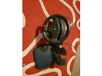 Steering wheel ps3 and ps4