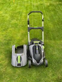 G tech battery powered lawn mower