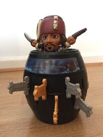 Pirates of the Caribbean pop up pirate, good condition