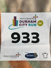Durham City Run 5K entry