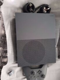 Xbox One S Rare Battlefield One Grey Edition 500GB