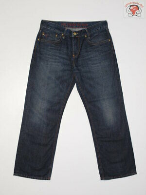 T.H.D Tommy Hilfiger RELAXED FIT 32x30 W32 L30 Denim Jeans STRAiGHT LEG Herren (Tommy Hilfiger Jeans Relaxed Fit)