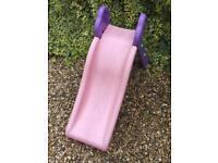 Girls toddler slide