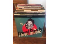 100 12inch vinyl records, 80's & 90's House and Dance