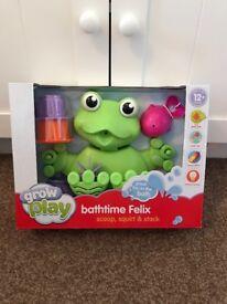 Bath Toy - Bathtime Felix Frog