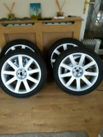 Audi rs 4 alloys just refurbished 18 inch