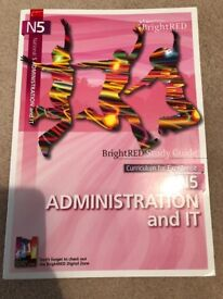 CFE National 5 Administration & IT Revision Guide - BrightRED
