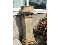 Antique chimney stack