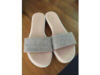 Diamanté Ladies sandals size 39 (6)