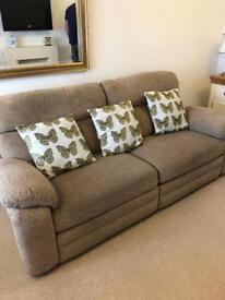 3 Seater Electric Recliner Settee