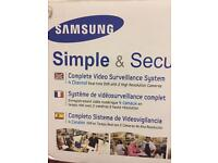 Samsung 4 channel CCTV, DVR camera, security camera