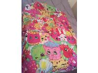 Shopkins single duvet set