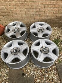 "Bentley 19"" wheels"