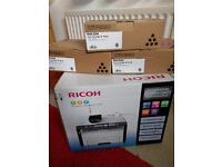 Ricoh SP204SN multi function Laser Printer / Scanner - Sealed New Unused incl 3 x Toner Cartridges