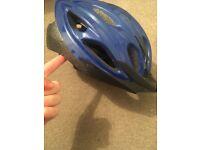 Unused adjustable cycle helmet blue
