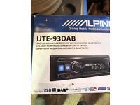 Alpine UTE-93DAB - Landrover defender