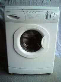 Hotpoint Aquarius washing machine.