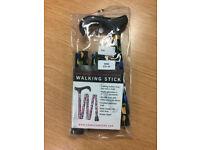 Folding Walking Stick - unused and in original packaging