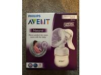 Philips avent natural bottles & Philips Avent natural manual breast bump