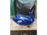 Suzuki SV650 Blue Nose Cone Front fairing