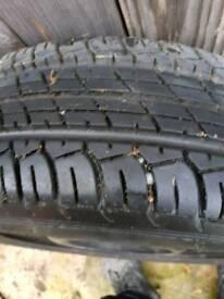 "Brand new 15"" tyre"
