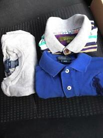Beautiful Ralph Lauren and Ted Baker t Shirts 3-4 years old boys. RRP £90.