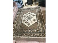 Tunisian Large Traditional Quality Rug 91in/230cm x 68in/173cm Good condition R193