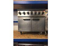 Lincat 6 Burner Natural Gas Oven Range