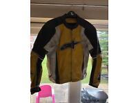 Ladies Alpinestar Leather Motorbike Jacket