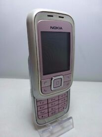 NOKIA 6111 PINK UNLOCKED MOBILE CAMERA PHONE SLIDE PHONE £10, (post for £13)